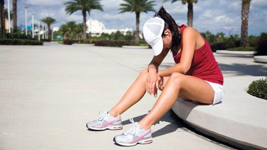 running and illness