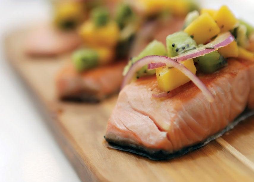 Recipe: Grilled Salmon with Mango Salsa
