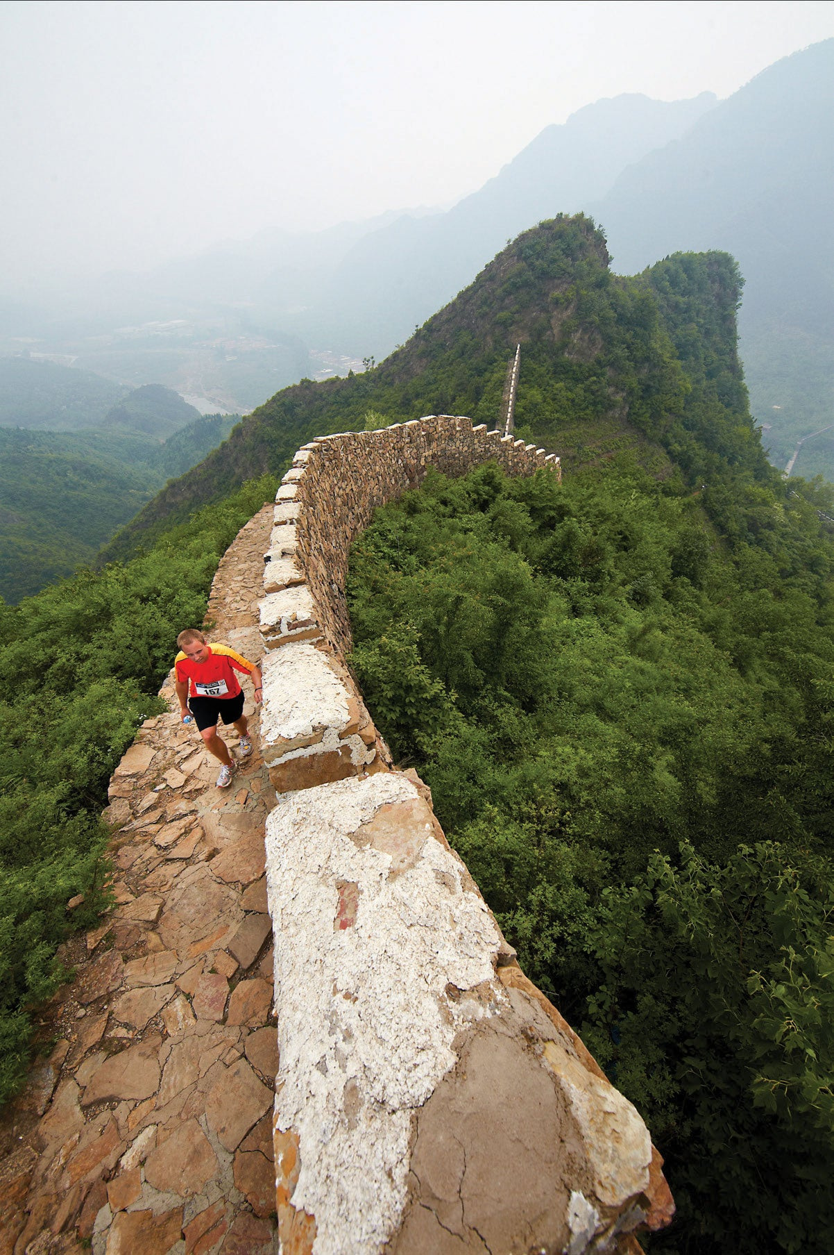 To run the race, participants must sign up for a six- or seven-day travel package, which includes everything from registration, ground transfers, lodging and sightseeing in Beijing.
