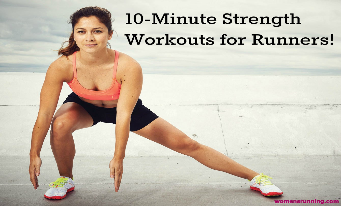 2 Quick & Easy Strength Training Workouts for Runners!
