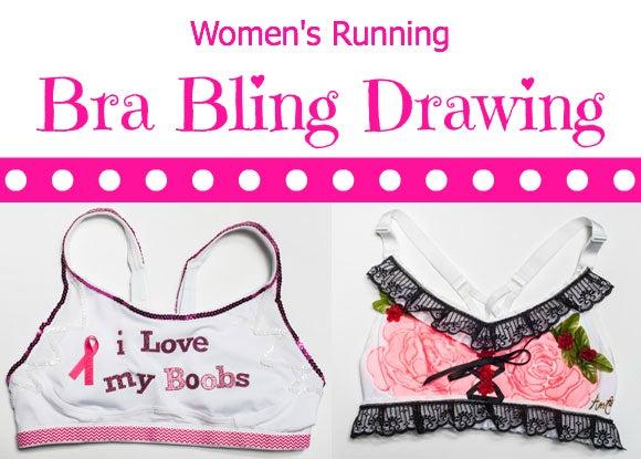 Women's Running Bra Bling Drawing!