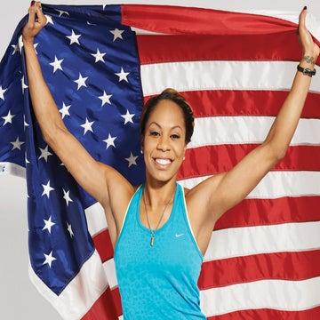 Cover Model: Olympian Sanya Richards-Ross