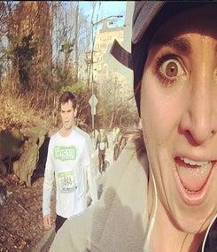 One Runner's Selfie Fun at the NYC Half
