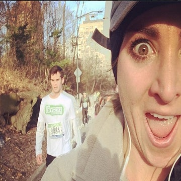One Runner's Selfie Fun at the NYC Half