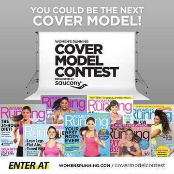 Women's Running Cover Model Contest