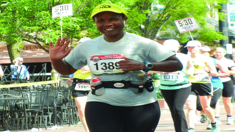 Running Helped Her Succeed In Her Post-Graduate Career