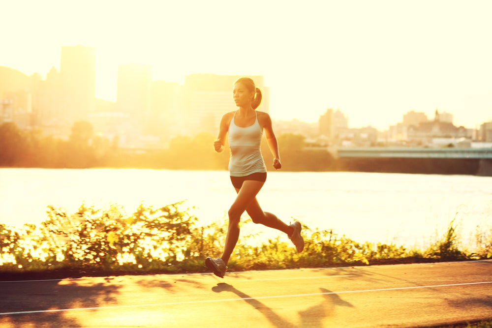 This is not me. I don't look this put together running ever.