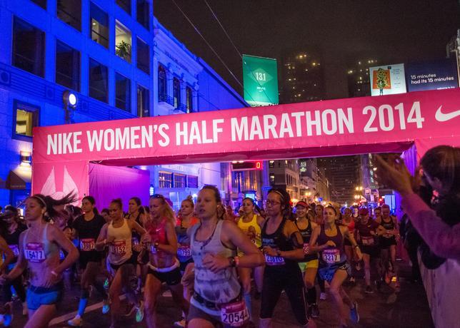 e8237b147 2014 Nike Women's Half Marathon San Francisco – Women's Running