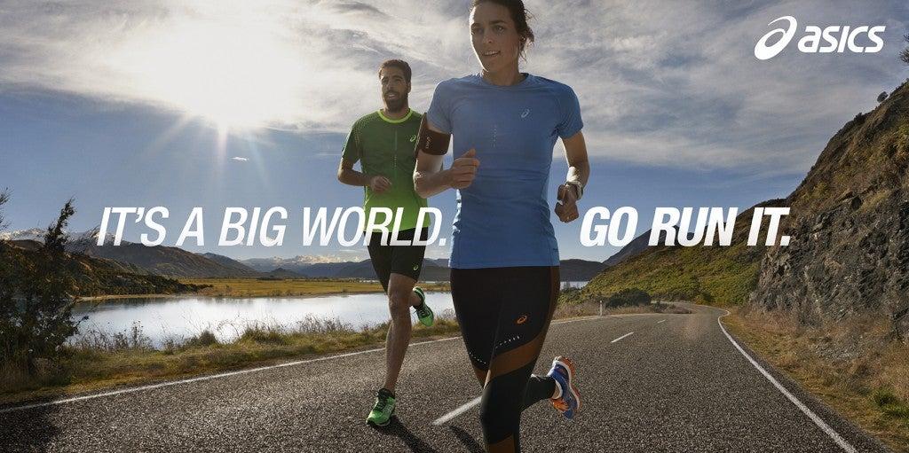 coser Autorización galería  ASICS Launches 2015 Campaign: It's A Big World. Go Run It. - Women's Running