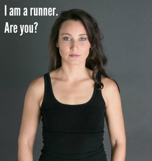 Dorothy Beal - I Am A Runner cropped