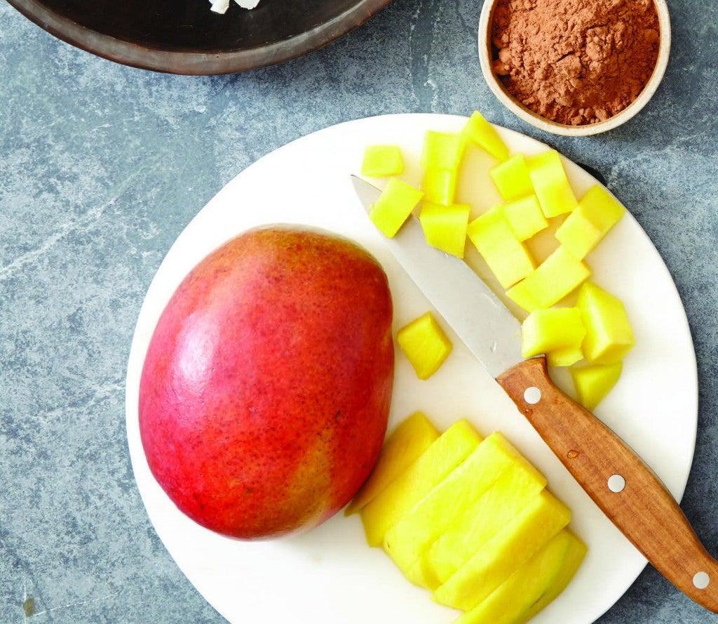 mango mason jar