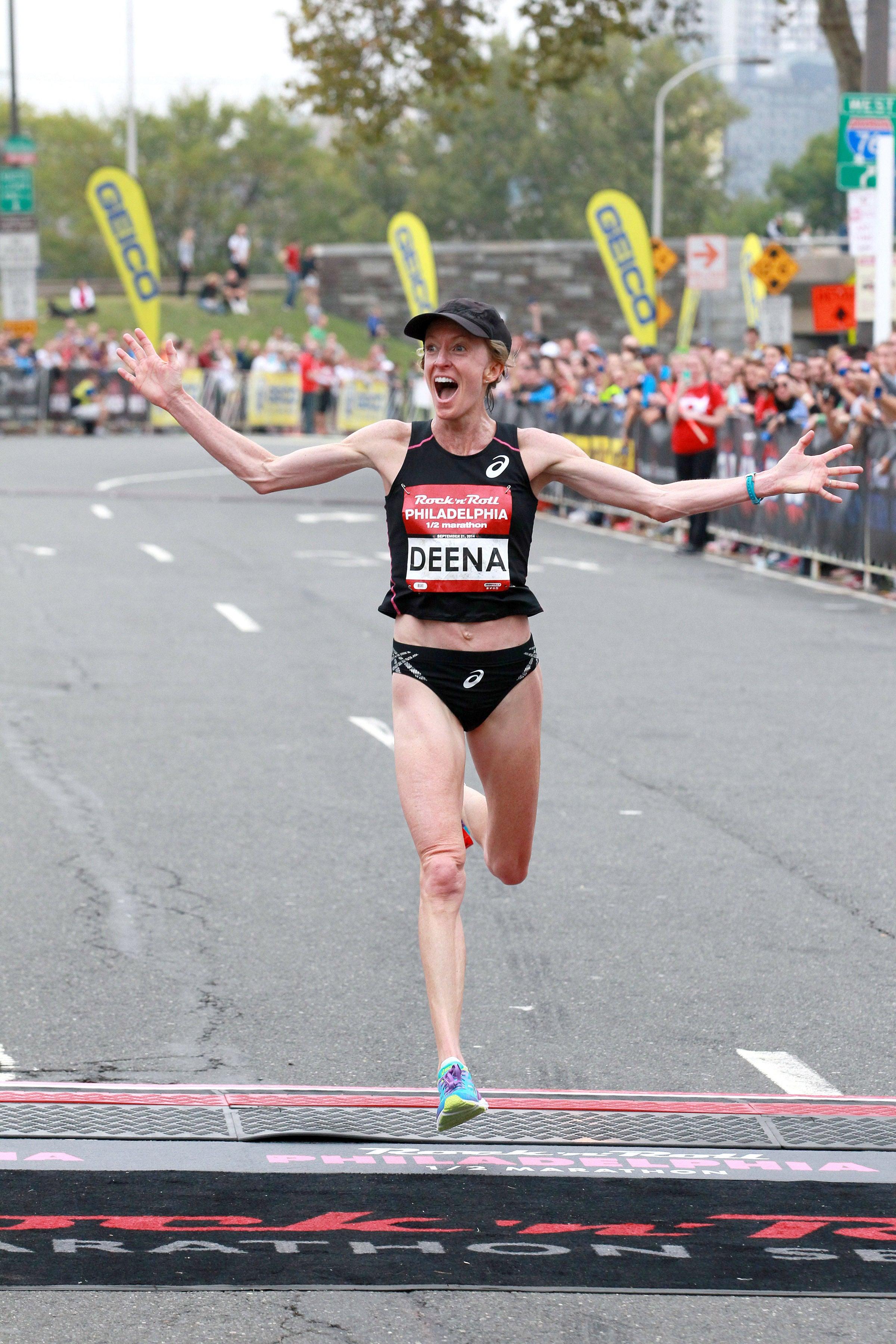 2. Deena (Drossin) Kastor, 2:19:36, 2004 Olympic Bronze Medalist