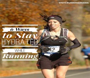 Stay Hydrated While Running With These Tips