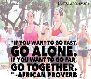 NYC Running Mama: Running Can Be a Team Sport