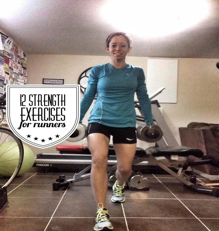 12 Strength Training Moves For Runners Womens Running