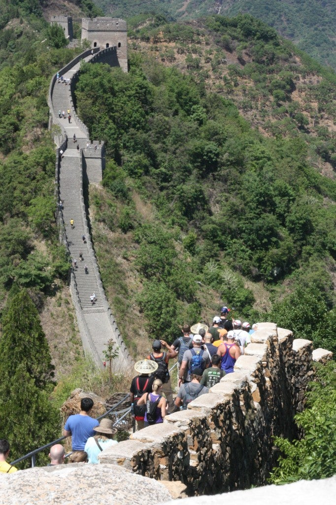 Incredible Photos From Great Wall Of China Marathon ...