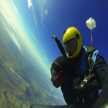 Would You Skydive Before A Race?