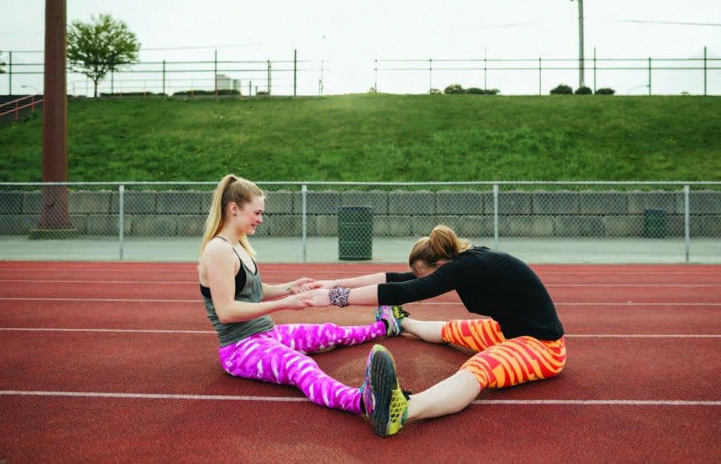 speed workout warm up