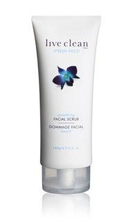 smoothing facial scrub