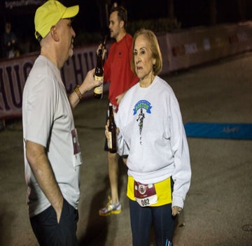 81-Year-Old Grandma Completes Beer Mile World Champs