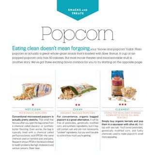 Bazilian Eat Clean Stay Lean POPCORN