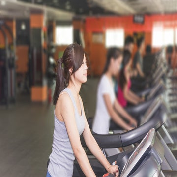 End Your Treadmill Run With Power Sprints