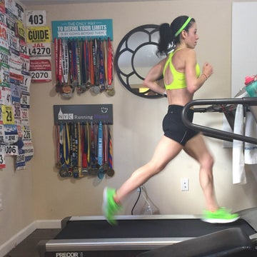 4 Treadmill Workouts From Your Favorite Runners On Instagram