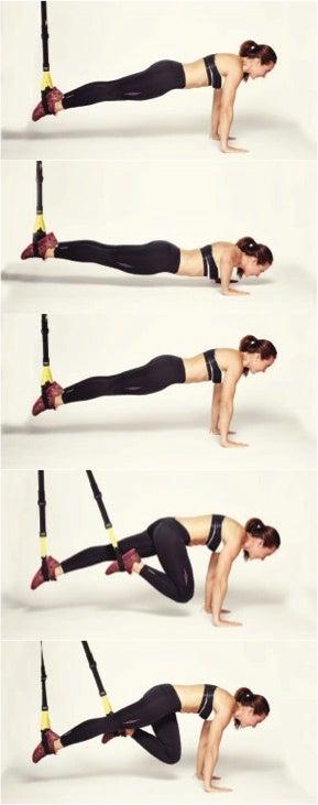 push up knee