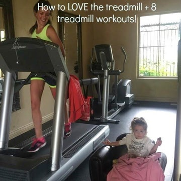 How To Love The Treadmill—And 8 Workouts To Make The Time Fly