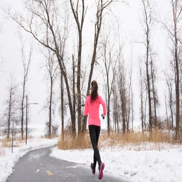 The Benefits Of Running In Snow Or Rain