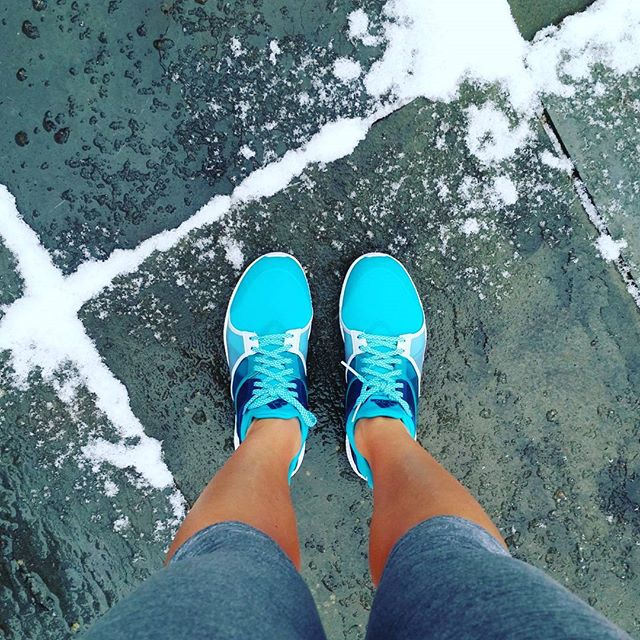 Wear Your Running Shoes For Running