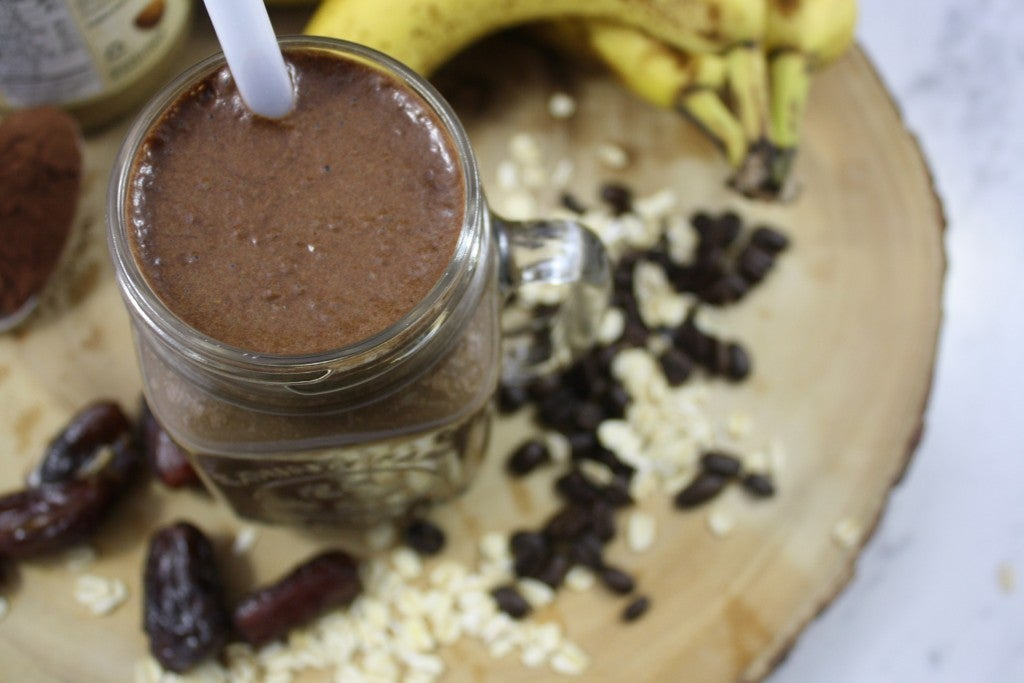 This Coffee Crunch Smoothie Is An Instant Energy Boost