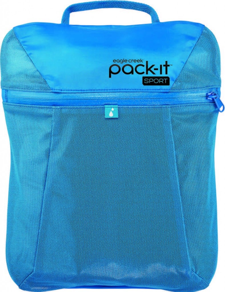 Eagle Creek Pack It Sport Wet Dry Locker Stash Clothes In The Front Zip To Change Into After Race Back Pocket S Sweaty Kituddy