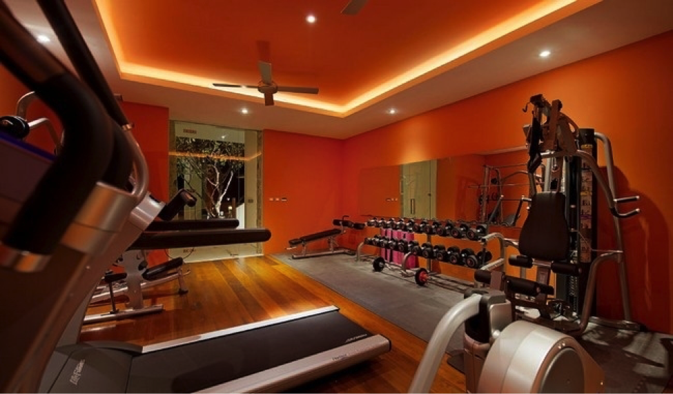 Sneaky design tips to help improve your home gym