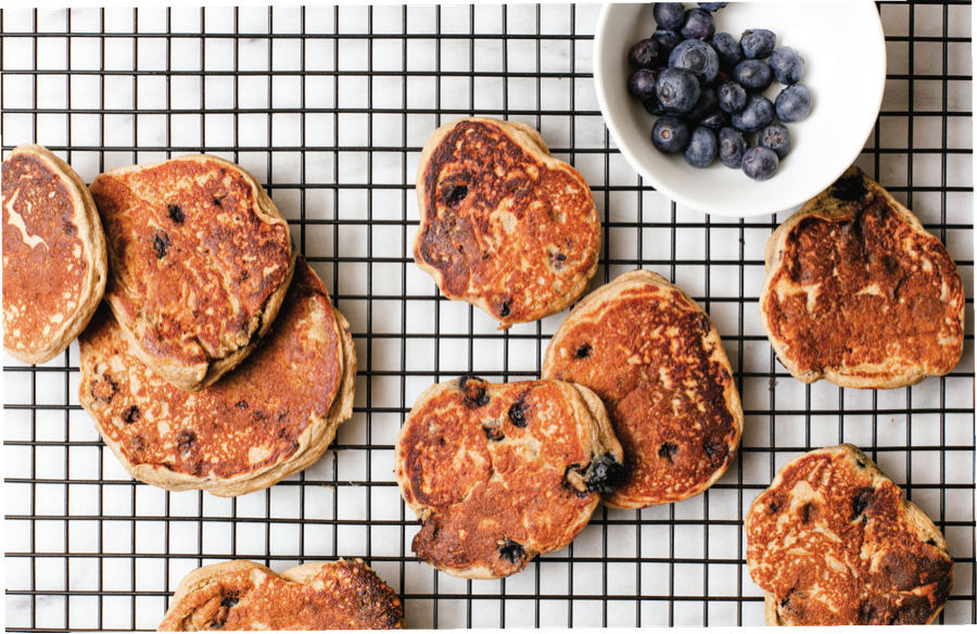 Keep These Blueberry Protein Pancakes In The Freezer For Post-Run