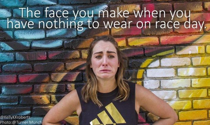 5 nothing to wear race day
