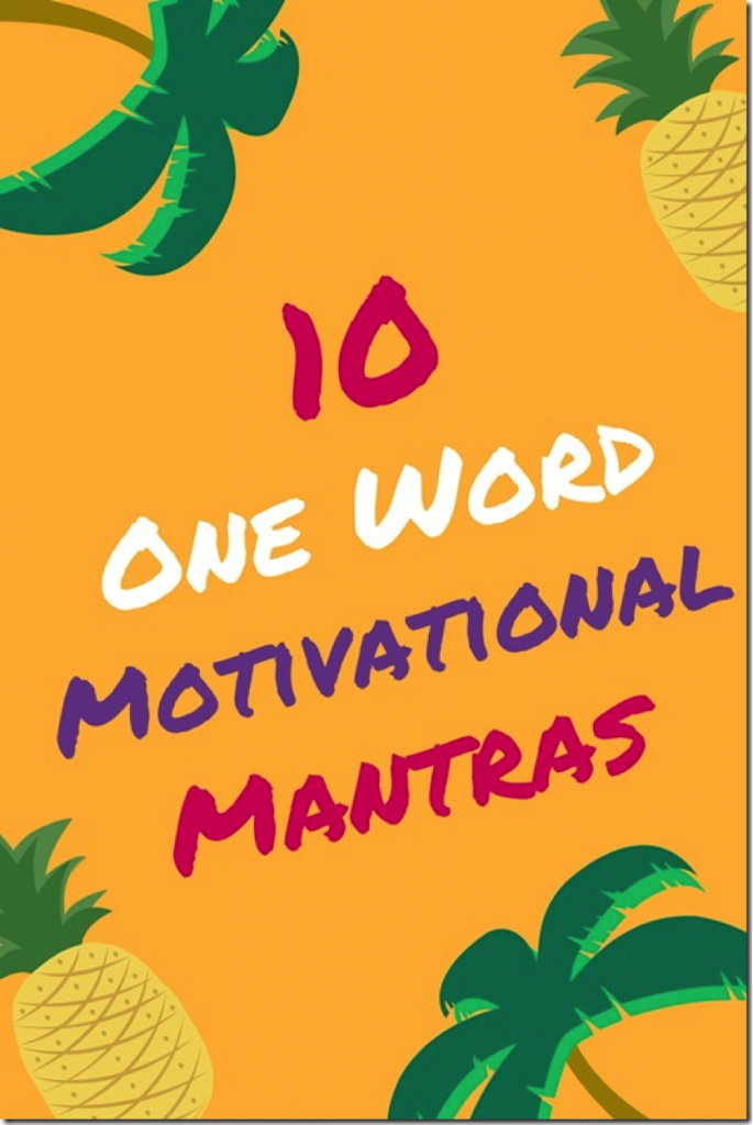 10 Short One-Word Mantras You Can Easily Repeat