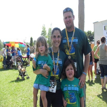 Mother Found A Connection With Her Autistic Daughter Through Running