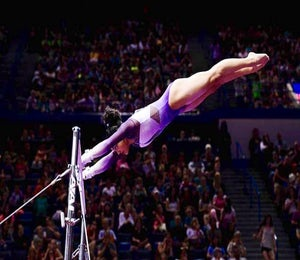 Laurie Hernandez Makes History On U.S. Olympic Gymnastics