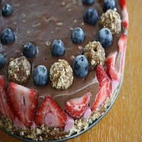 A Strawberry Cream Pie Recipe With NO Added Sugar