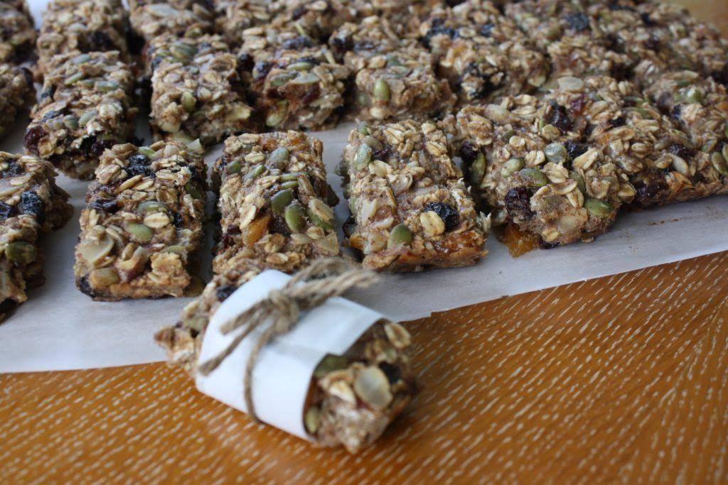These Banana Oat Nut Bars Make The Perfect Pocket Fuel