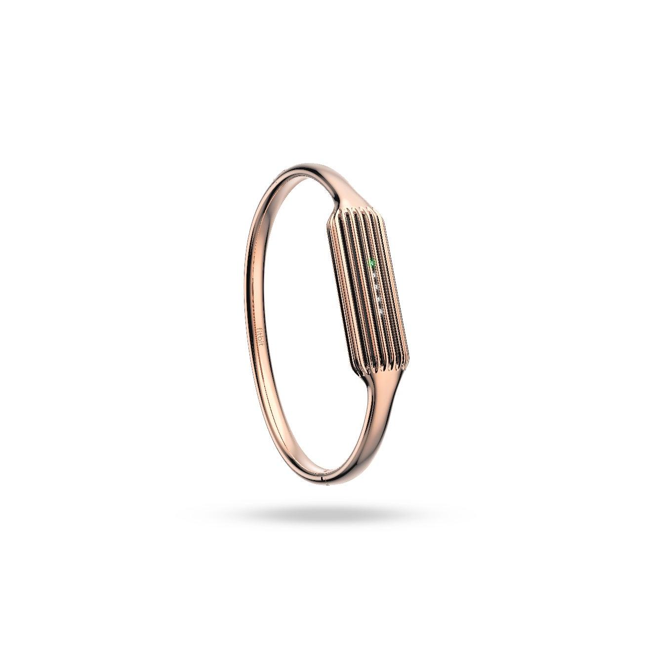 Fitbit Flex 2_ Rose Gold Bangle