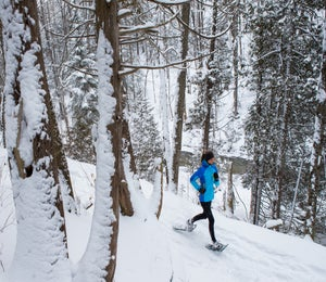 3 Life Lessons From Snowshoe Running