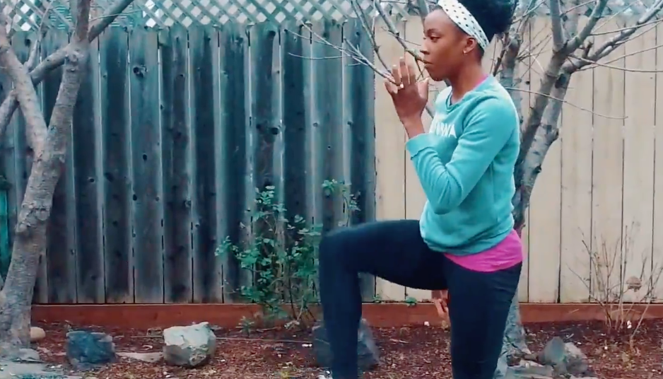 Perform An Olympian's Dynamic Stretches Before Your Run
