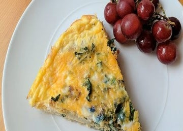 Make This Healthy Frittata For Post-Run Brunch This Weekend
