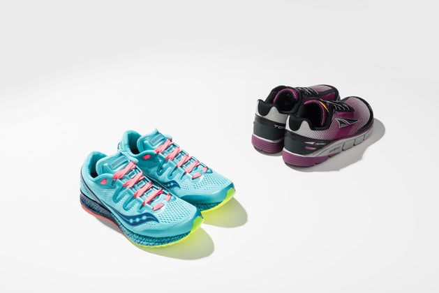 Saucony and Altra
