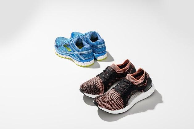 Brooks and adidas