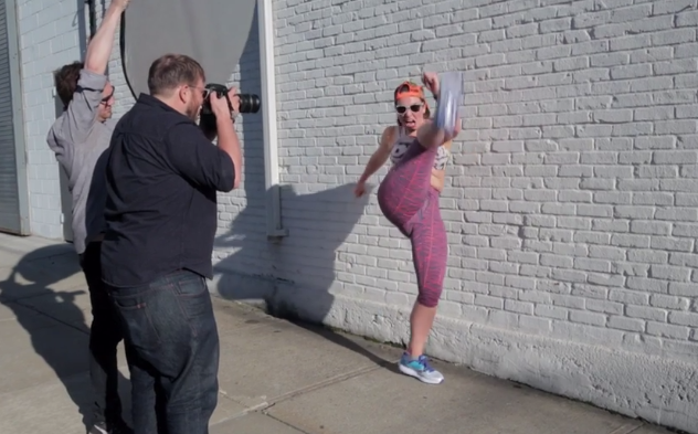 Check Out Our Hilarious Cover Shoot With Kelly Roberts