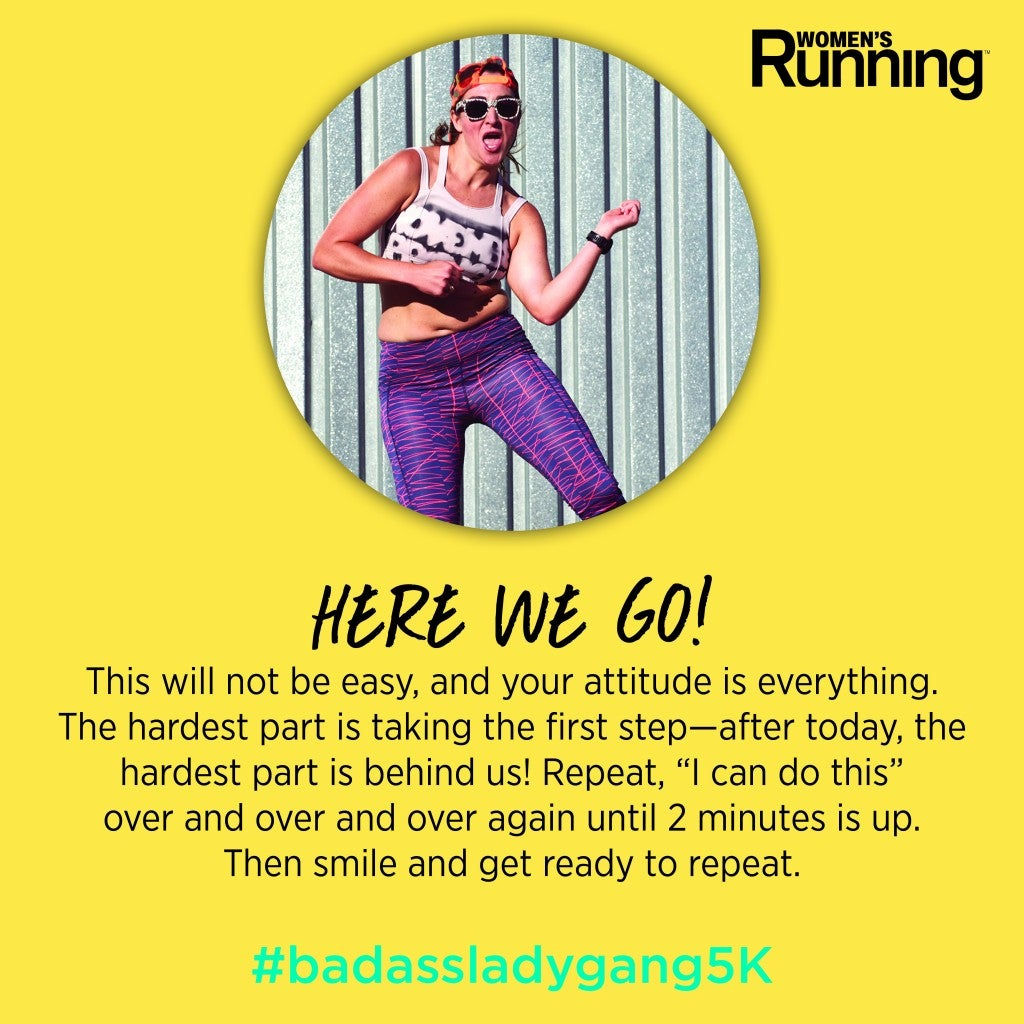 Kelly Roberts Explains The #BadassLadyGang5K And What It Means