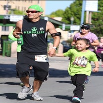 The 6-Year-Old Little Runner Who Takes On Big Races